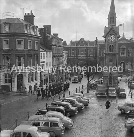 Assizes in Market Square, Jan 11th 1962