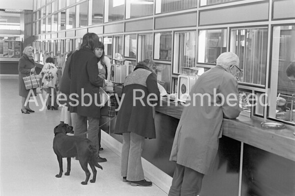 New Post Office opening in High Street, Nov 16th 1972