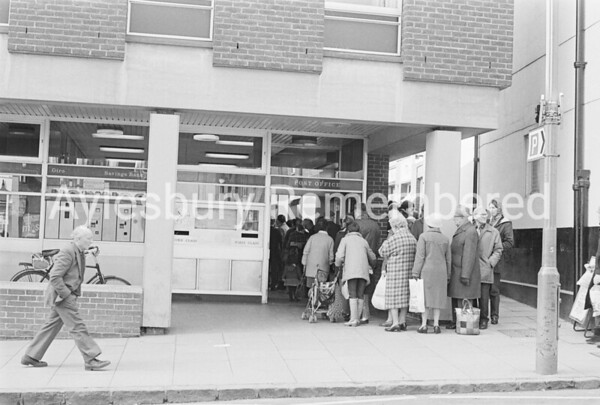 High Street Post Office, Apr 1983