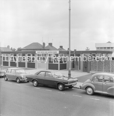 Temporary Post Office in Cambridge Street, Aug 27th 1969