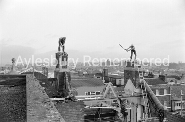 Demolition of High Street Post Office, Dec 1970