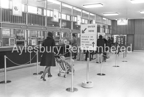 High Street Post Office, Feb 1978