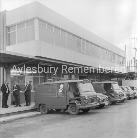 Royal Mail Sorting Office, Cambridge Street, Aug 27th 1969