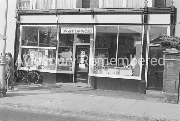 Buckingham Street Post Office, May 19th 1975