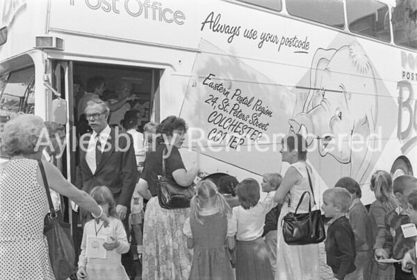 Post Office Tricentenary in Market Square, Oct 1985