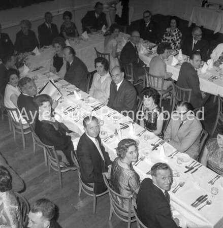 Post Office dinner at Bulls Head Hotel, Mar 26th 1966