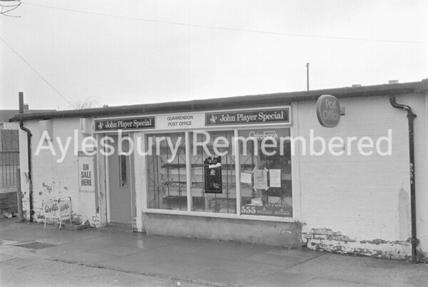 Quarrendon Post Office, Mar 1984