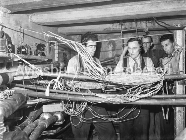 Telephone Exchange, May 14th 1956