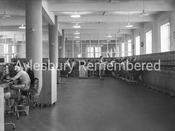 Telephone Exchange, Feb 27th 1957