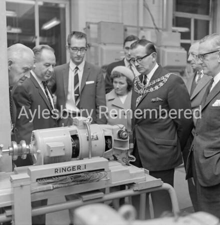 Mayor Albert Roblin, Sep 20th 1969
