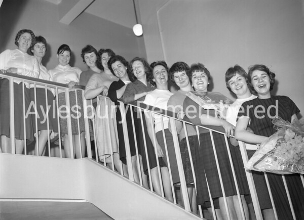 Women of Telephone Exchange, Mar 1961