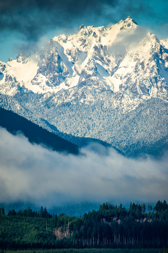 Olympic Mountains 6
