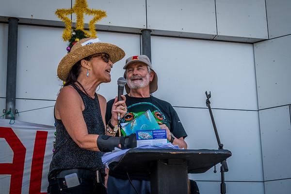Save Wavebreak Island Protest