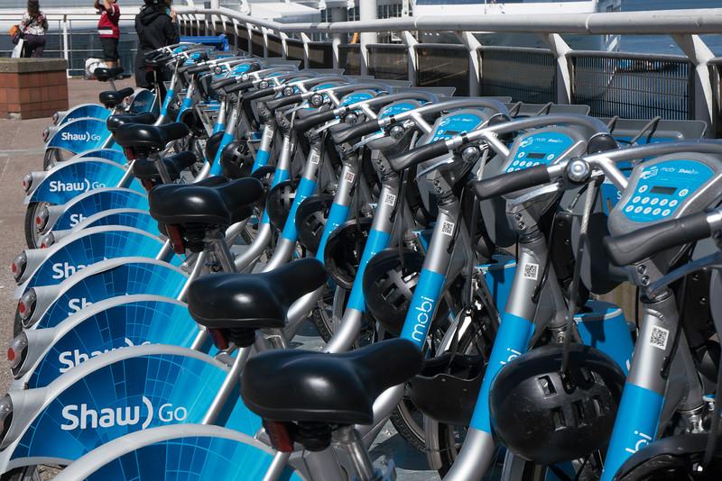Vancouver bikes