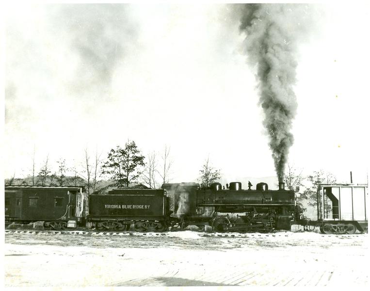 Virginia Blue Ridge Railway Engine 9, 060 (Piney River)  (09845)