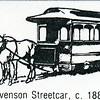 Stevenson Streetcar, C. 1886 (4585)