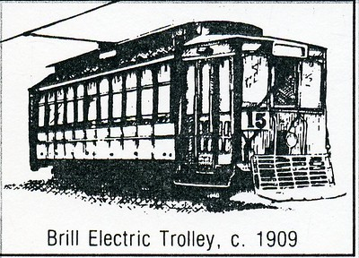 Brill Electric Trolley, C. 1909 (4586)