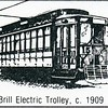 Brill Electric Trolley, C. 1909 (4586)