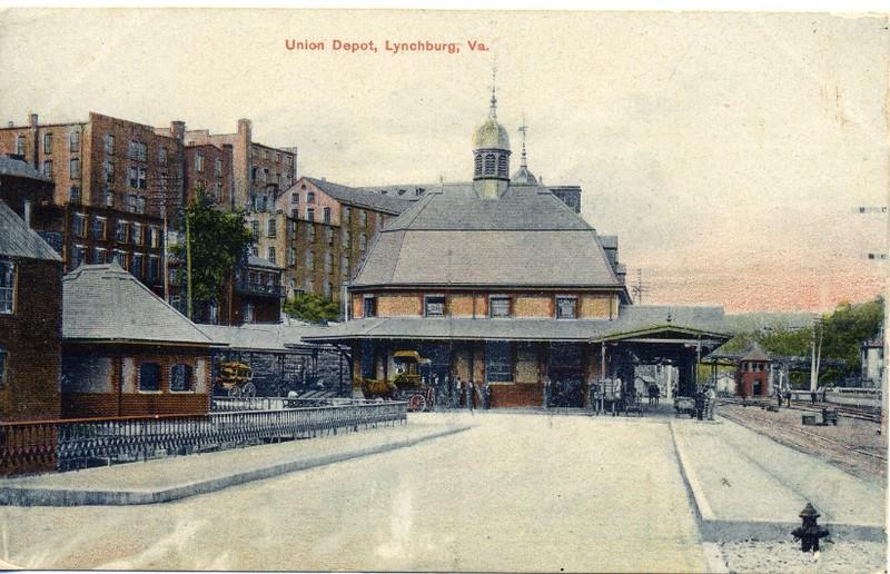 Union Depot, Lynchburg, Va. (03016)