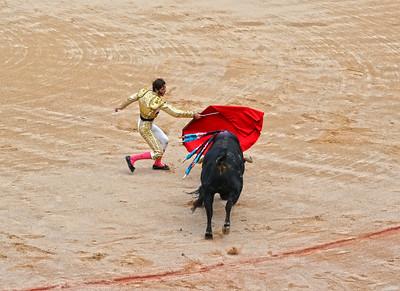 Juan José Padilla (Matador) Passes the Bull