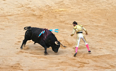 The Bull Swings at Juan José Padilla