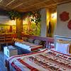 Inside the Tree House at Tathastu Resort