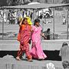Hindu Women at the Kalaram Temple Precinct
