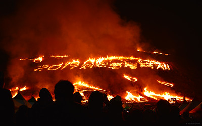 The Jeju Fire Festival