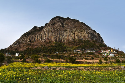 Sanbangsan Mountain ..... 1,132 feet tall
