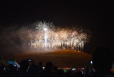 Jeju Fire Festival Fireworks