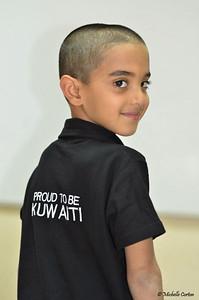 Proud Kuwaiti Boy
