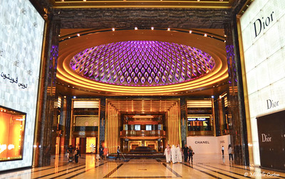 The Grand Avenues Light Changing Dome