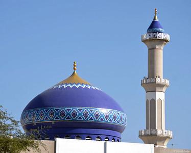 Mosque in the Ruwi Neighborhood