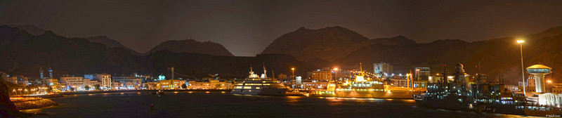 Muttrah Harbor and Port Sultan Qaboos