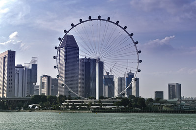 The Singapore Flyer ..... 541 Feet Tall