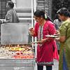 Hindu Devotees Light Candles