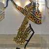 A Sax in the Chang Lien-cheng Saxophone Museum