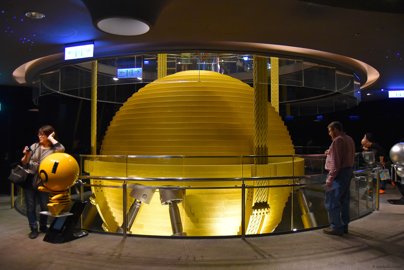 The Tuned Mass Damper within the Taipei 101