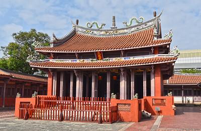 The Taiwan Confucian Temple .....1665