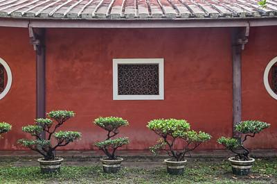 Living Quarters at the Taiwan Confucian Temple