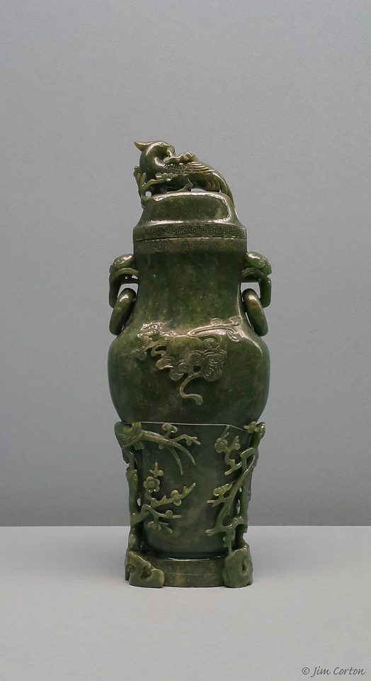 Part of the Jade Collection at the National Palace Museum