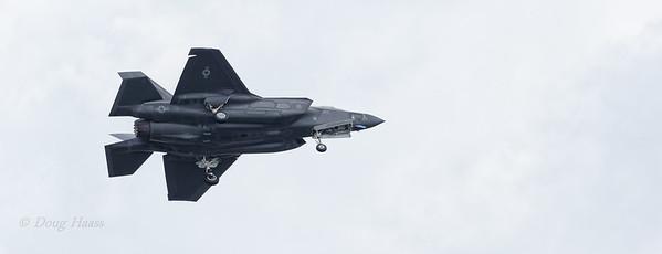 F-35 Lightning II landing gear down