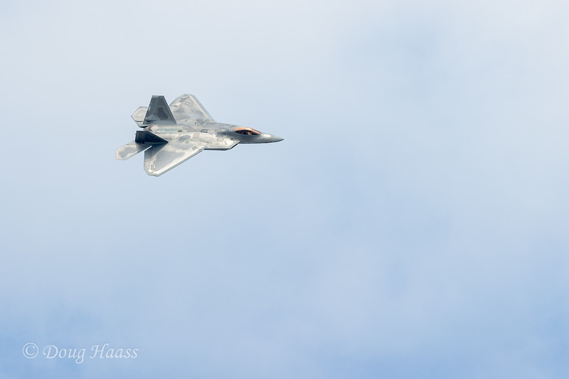 F22 Raptor on Sunday 10/11/2020.