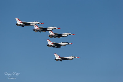 F-16 Fighting Falcon Air Force Thunderbirds