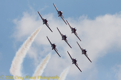 Canadian Snowbirds Flying Team