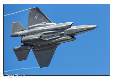 F35A Lightning II underneath - Friday 10/22/2016.