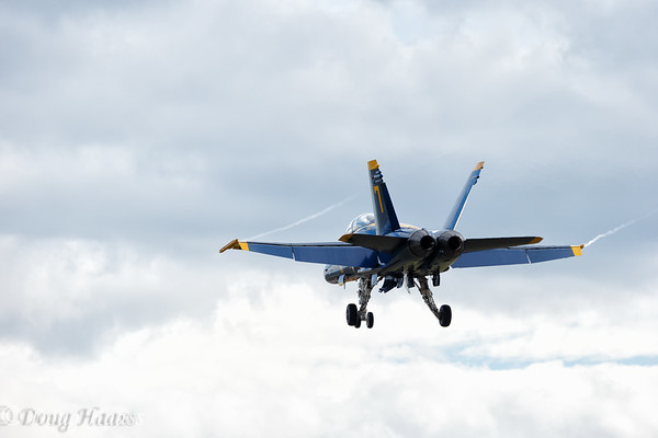 Blue Angels #7 (replacement jet for #6)