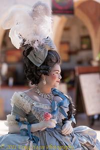 A proper lady.