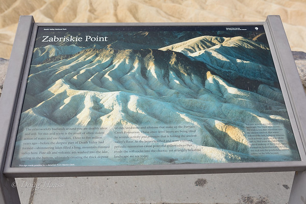 Zabriskie Point Overlook July 2018