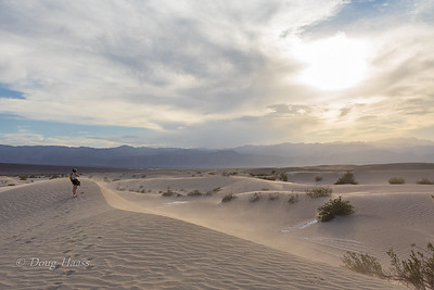 Mesquite Dunes...tallest one is about 100 feet.  It was really hot here 113 deg. July 2018.